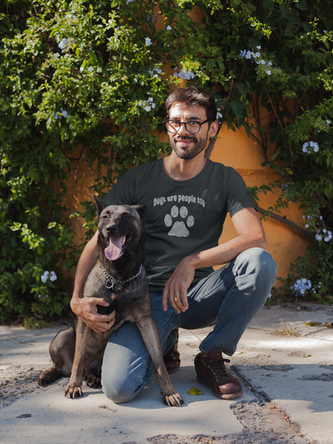 Men's Dogs are People Too Tri-Blend Crew Tee