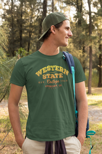 Men's WSC Old School Tri-Blend Crew Tee