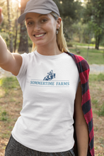 Load image into Gallery viewer, Women's Sommertime Farms Triblend Tee