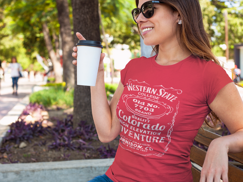 Women's Western State College 7703 Triblend Short Sleeve Tee