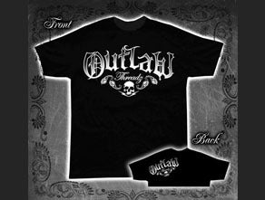 Black Outlaw Logo T-Shirt