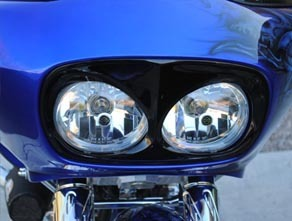 Sinister Pissed off Headlight Bezel