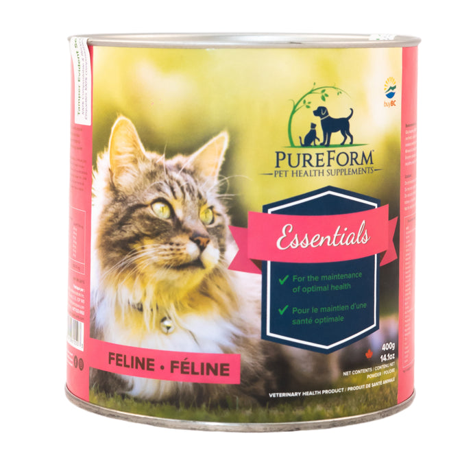 Essentials Feline - for optimal health, with digestive enzymes