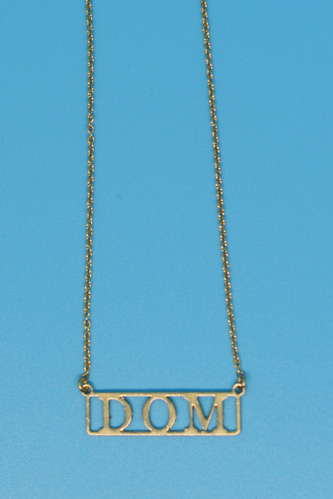 Dom Necklace 18k Gold Plated Necklace