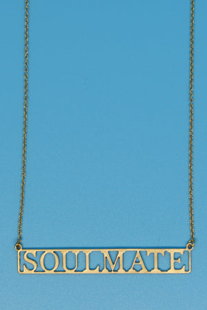 Soulmate 18k Gold Plated Necklace