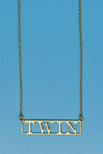 Twin 18k Gold Plated Necklace