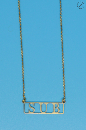 Sub  18k Gold Plated Necklace