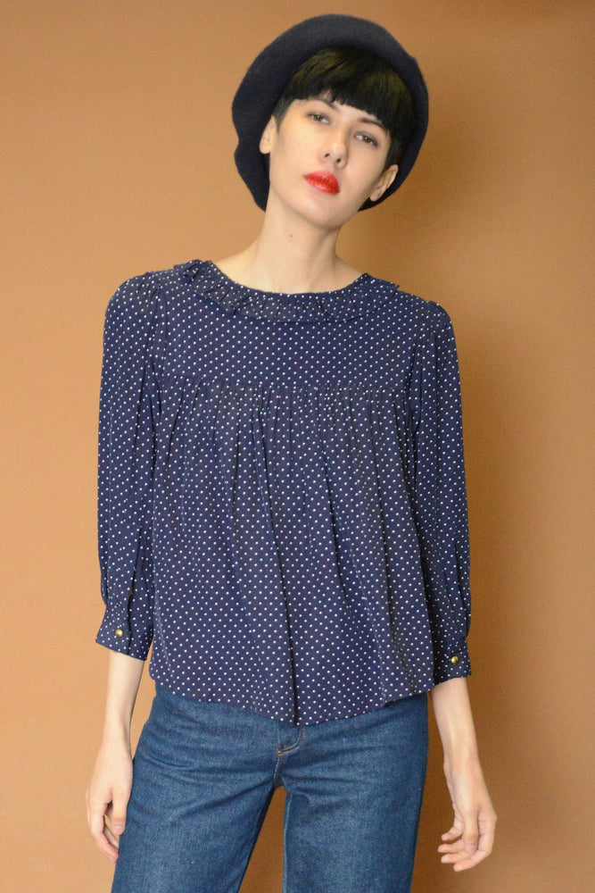 Lilly Dotted Blouse