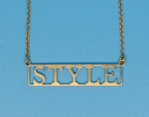 Style 18k Gold Plated Necklace