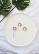 Load image into Gallery viewer, Bridal hair pin, gold hairpin, rose gold hair pin, bridal hair accessory, statement hair pin, bridal headpiece, romantic hairpiece, modern hair accessories, raceday hair accessories, hair adornment, gold hair accessories, rose gold hair accessories