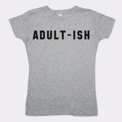 Adultish T-Shirt (Ladies) - www.market-market.com