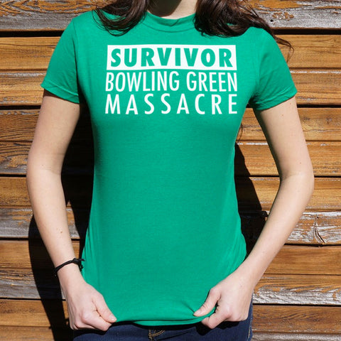 Bowling Green Massacre Survivor T-Shirt (Ladies) - www.market-market.com