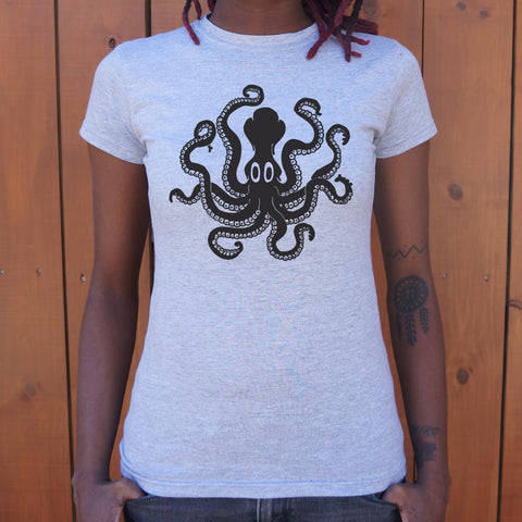 Minoan Octopus T-Shirt (Ladies)