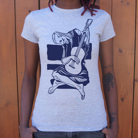 Old Guitarist T-Shirt (Ladies)