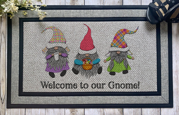 Gnomes || Easter Basket of Eggs