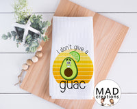 Funny || Food || I Don't Give A Guac