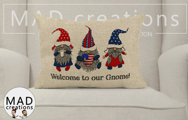 Patriotic || Welcome To Our Gnome