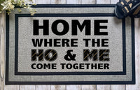 Crude || Home Where The Ho And Me Come Together