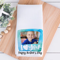 Mother's Day || I Love You (Blue)
