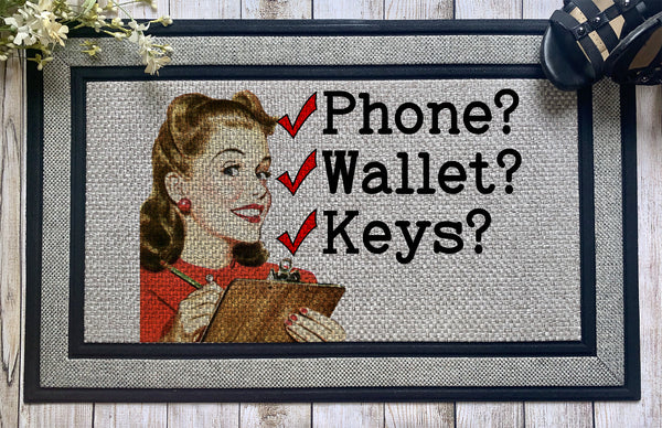 Funny || Phone Wallet Keys