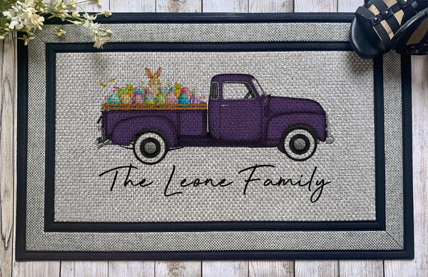Personalized || Easter Truck