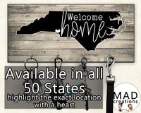 Personalized || Welcome Home State