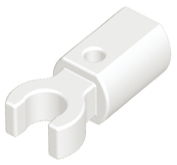 LEGO Bar Holder with Clip [White] [11090]