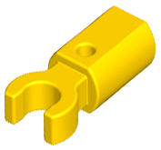 LEGO Bar Holder with Clip [Yellow] [11090]
