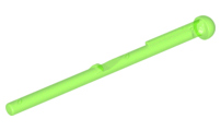 LEGO Bar  8L with Round End (Spring Shooter Dart) [Trans-Bright Green] [15303]