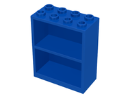 LEGO Homemaker Bookcase 2 x 4 x 4 [Blue] [1]