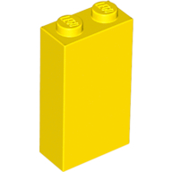 LEGO Brick 1 x 2 x 3 [Yellow] [22886]