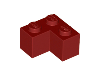 LEGO Brick 2 x 2 Corner [Dark Red] [2357]
