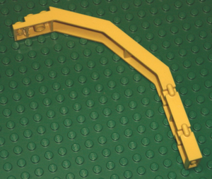 LEGO Door Frame 2 x 8 x 12 with Hinges [Yellow] [2662]