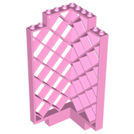 LEGO Belville Wall, Lattice 6 x 6 x 12 Corner [Bright Pink] [30016]