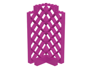 LEGO Belville Wall, Lattice 6 x 6 x 12 Corner [Dark Pink] [30016]