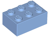 LEGO Brick 2 x 3 [Medium Blue] [3002]
