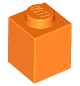 LEGO Brick 1 x 1 [Orange] [3005]