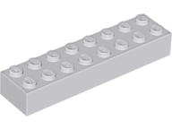 LEGO Brick 2 x 8 [Light Bluish Gray] [3007]