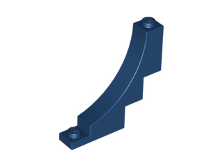 LEGO Brick, Arch 1 x 5 x 4 Inverted [Dark Blue] [30099]