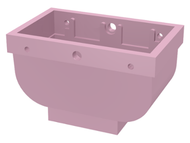 LEGO Belville Basket 2 x 4 x 2 without Handle [Pink] [30109]