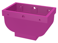 LEGO Belville Basket 2 x 4 x 2 without Handle [Dark Pink] [30109]