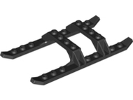 LEGO Helicopter Sled Rails 12 x 6 [Black] [30248]