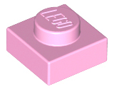 LEGO Plate 1 x 1 [Bright Pink] [3024]