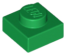 LEGO Plate 1 x 1 [Green] [3024]