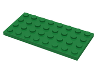 LEGO Plate 4 x 8 [Green] [3035]