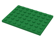 LEGO Plate 6 x 8 [Green] [3036]