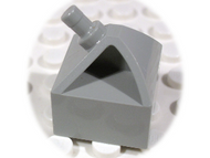 LEGO Vehicle, Steering Wheel Holder 2 x 2 [Light Gray] [30640]