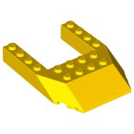 LEGO Wedge 6 x 8 Cutout [Yellow] [32084]