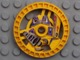 LEGO Technic, Disk 5 x 5 Grab Pattern [Yellow] [32363]