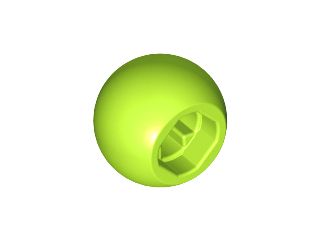 LEGO Technic Ball Joint [Lime] [32474]